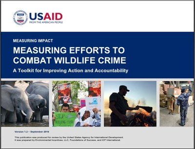 Measuring Efforts to Combat Wildlife Crime: A Toolkit for Improving Action and Accountability
