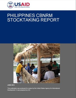 Philippines CBNRM stocktaking report