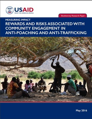 Rewards and risks associated with community engagement in anti-poaching and anti-trafficking