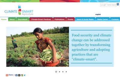 Global Alliance for Climate Smart Agriculture, CSA.org at FAO