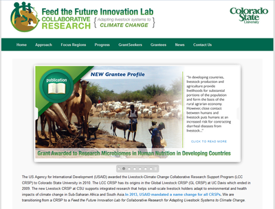 Feed the Future Innovation Lab for Collaborative Research for Adapting Livestock Systems to Climate Change
