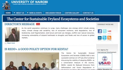 University of Nairobi: The Center for Sustainable Dryland Ecosystems and Societies