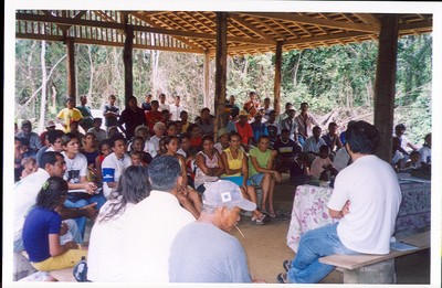 Meeting on Sustainable Development Project in Anapu (Pará State, Brazil)