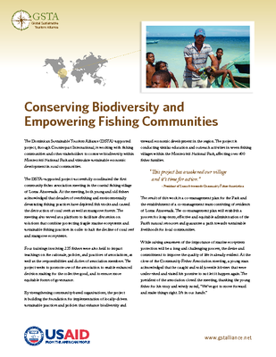 Conserving Biodiversity and Empowering Fishing Communities