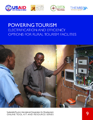 ST9. Powering Tourism - Electrification And Efficiency Options For Rural Tourism Facilities