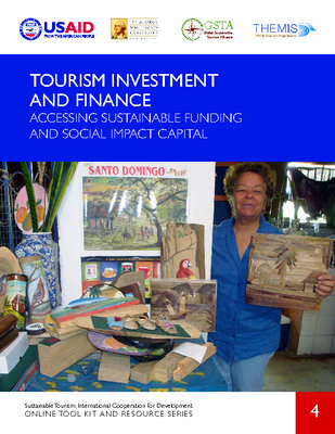 ST4. Tourism Investment And Finance - Accessing Sustainable Funding And Social Impact Capital