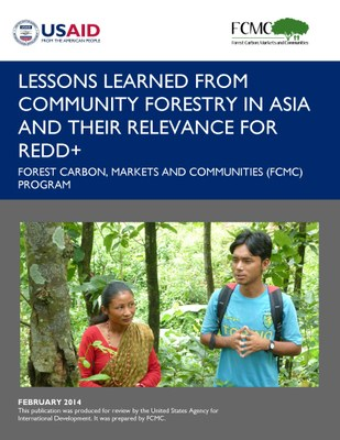 Lessons Learned from Community Forestry in Asia and Their Relevance for REDD+
