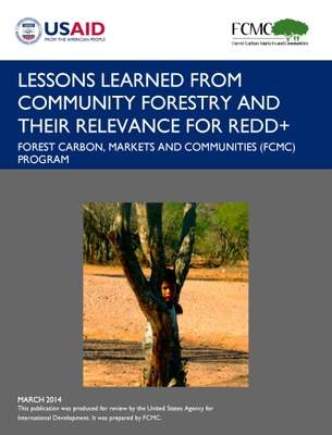 Lessons Learned from Community Forestry and Their Relevance for REDD+