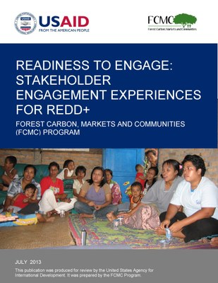 Readiness to Engage: Stakeholder Engagement Experiences for REDD+