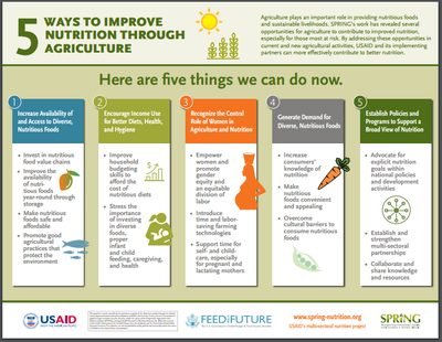Five Ways to Improve Nutrition Through Agriculture