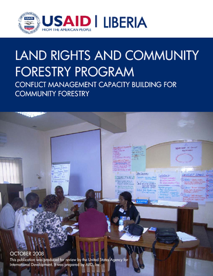 CONFLICT MANAGEMENT CAPACITY BUILDING FOR COMMUNITY FORESTRY