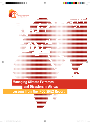 Managing Climate Extremes and Disasters in Africa: Lessons from the IPCC SREX Report
