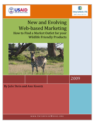 New and Evolving Web-based Marketing–How to Find a Market