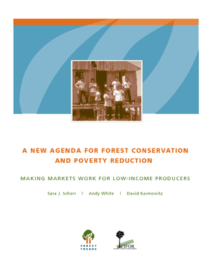 A new agenda for forest conservation and poverty reduction: Making forest markets work for low-income producers