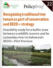 Recognizing traditional tree tenure as part of conservation and REDD+ strategy