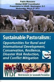 Sustainable Pastoralism: Opportunities for Rural and International Development, Conservation, Resilience, Disaster Risk Reduction, and Conflict Mitigation