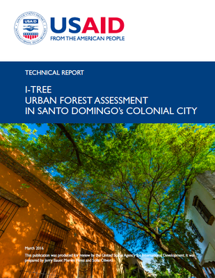 i-Tree Urban Forest Assessment in Santo Domingo's Colonial City.