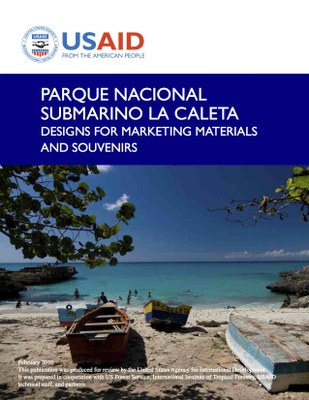 Parque Nacional Submarino La Caleta: Designs for Marketing Materials and Souvenirs