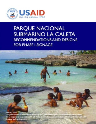 Parque Nacional Submarino La Caleta: Recommendations and Designs for Phase I Signage