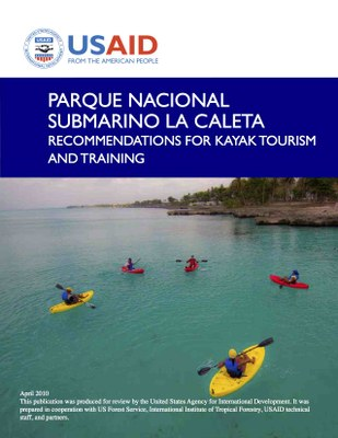 Parque Nacional Submarino La Caleta: Recommendations for Kayak Tourism and Training