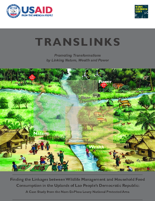 Finding the Linkages between Wildlife Management and Household Food Consumption in the Uplands of Lao People's Democratic Republic: A Case Study from the Nam Et-Phou Louey National Protected Area