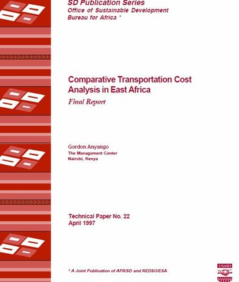 Comparative Transportation Cost Analysis in East Africa, Final Report