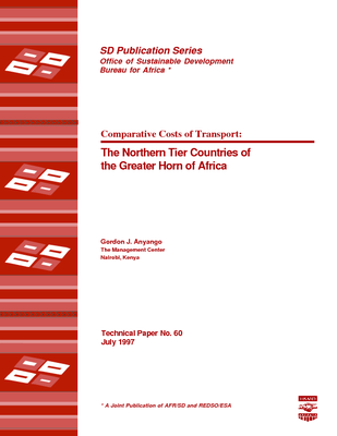 Comparative Costs of Transport:The Northern Tier Countries of the Greater Horn of Africa