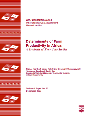 Determinants of Farm Productivity in Africa: A Synthesis of Four Case Studies