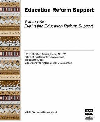 Education Reform Support, Volume Six: Evaluating Education Reform Support