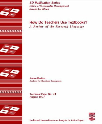 How Do Teachers Use Textbooks? A Review of the Research Literature