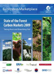 Cover: State of the Forest Carbon Markets 2009 Featured January 14, 2010