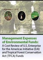Cover: Management Expenses of Environmental Funds Featured November 17, 2010