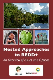 Cover: Nested Approaches to REDD+ An Overview of Issues and Options Featured May 4, 2011