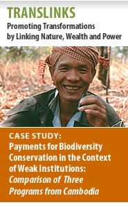 Cover: TransLinks: Case Study: Payments for Biodiversity Conservation in the Context of Weak Institutions Featured November 22, 2011