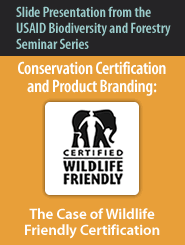 Cover: Conservation Certification and Product Branding-The Case of Wildlife Friendly Certification Featured November 7, 2010