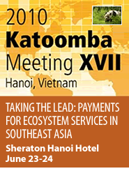Cover: 2010 Katoomba Meeting XVII Taking the Lead: Payments for Ecosystem Services in Southeast Asia Featured June 21, 2010