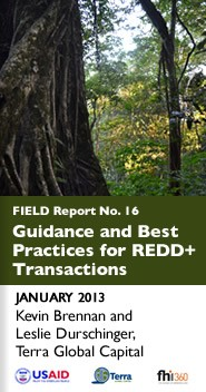 Cover: Guidance and Best Practices For Redd+ Transactions