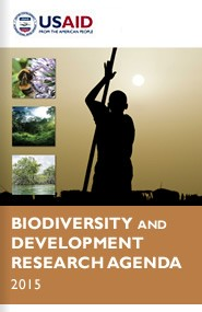 Cover: USAID Biodiversity and Development Research Agenda 2015