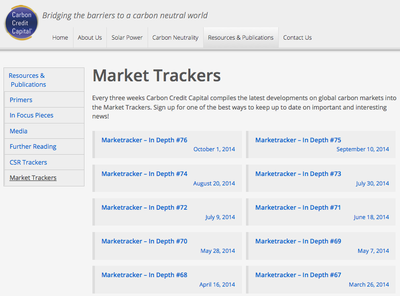 CCC Market Trackers