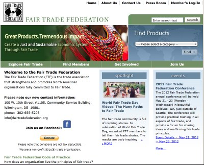 Fair Trade Federation - FTF