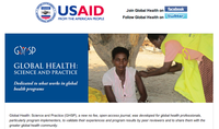 Global Health: Science and Practice (GHSP) Journal - Issue 3, November 2013