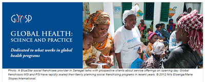 GHSP Journal, Volume 3, Issue 2 – Sharing Experiences and Results from the Global Health Community