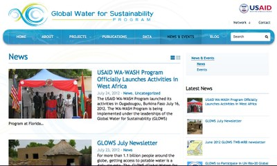 Global Water for Sustainability Program (GLOWS)