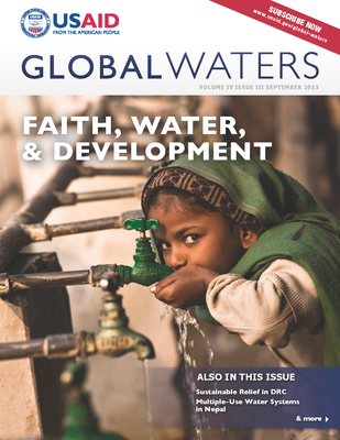 USAID Global Waters: Faith, Water, & Development | September 2013