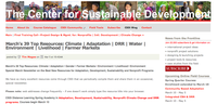March's 39 Top Resources: Climate | Adaptation | DRR | Water | Environment | Livelihood | Farmer Markets: CSDi Newsletter - March 2014