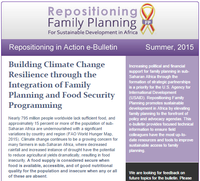 USAID Repositioning in Action e-Bulletin - Summer 2015