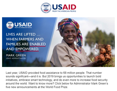 USAID Newsletter October 2019