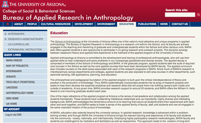 Bureau of Applied Research in Anthropology Education