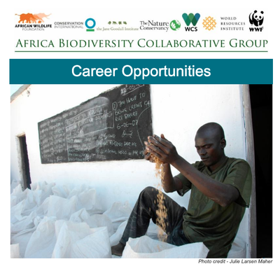 Africa Biodiversity Collaborative Group Career Opportunities May 2020