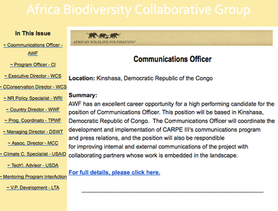 ABCG: Jobs & Career Opportunities - June 2014